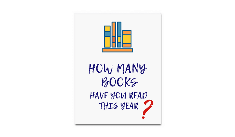 how many books have you read this year
