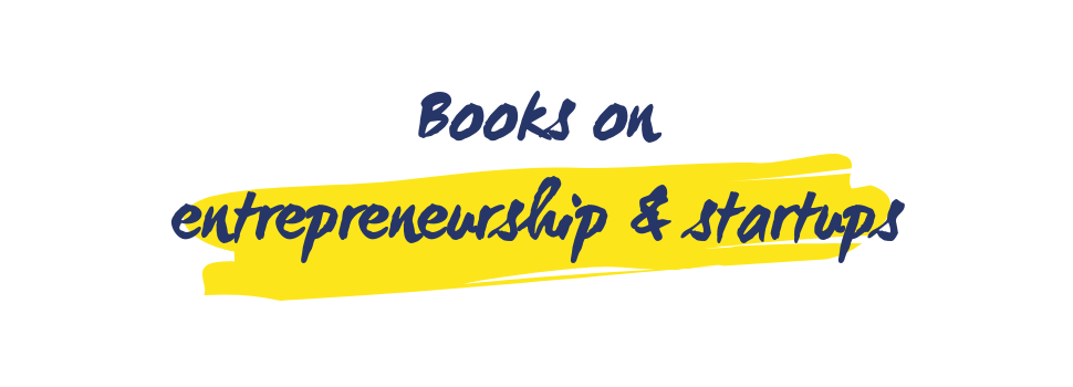 Books on entrepreneurship and startups
